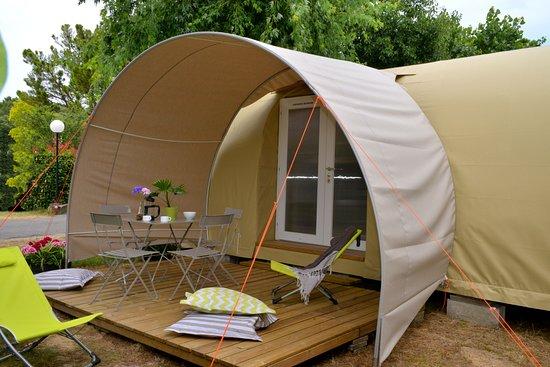 """Camping l'Abri des Pins: Tentes """"Coco sweet"""""""