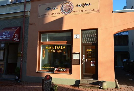 Image result for Mandala Restaurant Tartu