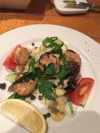 Letterbox Restaurant: Delicious scallops