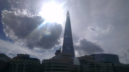 The Shard Seen From The Boat Picture Of Bateaux London London