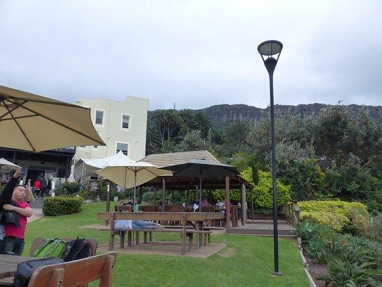 Scarborough, Australia: Garden restaurant