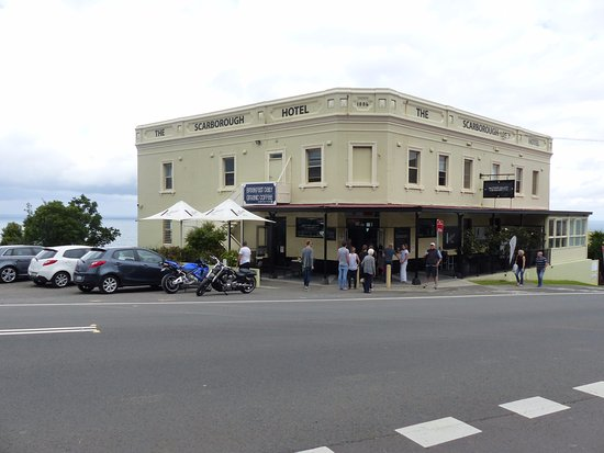 Scarborough, Australia: Front view