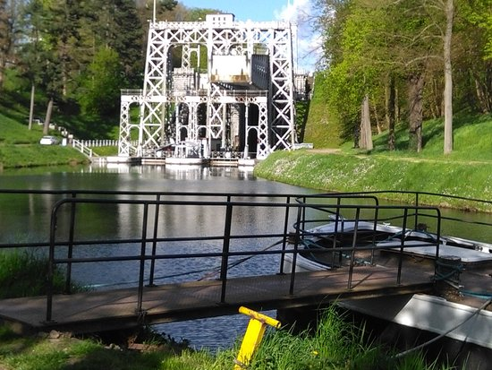 La Louviere, Bélgica: asccenseur no 3