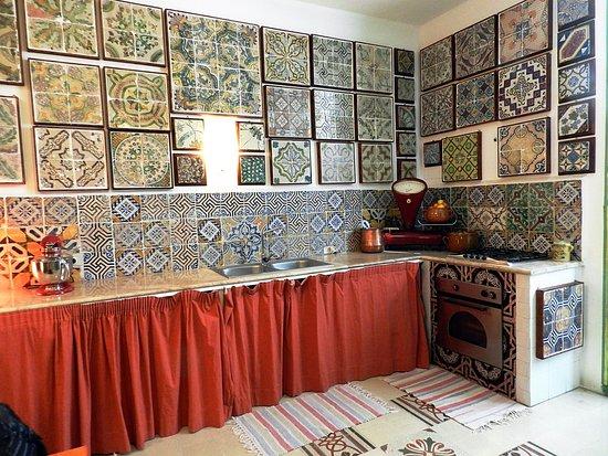 Cucina abitata stanze del genio foto di museo delle maioliche