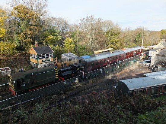 Midsomer Norton, UK: Somerset & Dorset Railway Heritage Trust