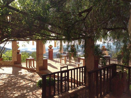 Finca el Tossal: Terraza con vistas