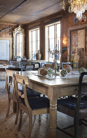 Meloy Municipality, Norwegia: Spisesal restaurant