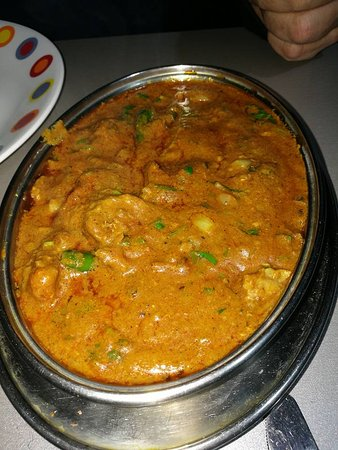Camelford, UK: Lamb Madras