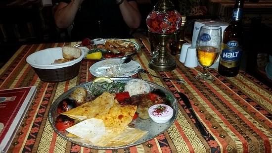 Mozaik Bahce: They also have vegetarian choice dishes