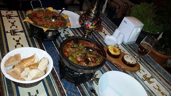 Mozaik Bahce: Lovely food