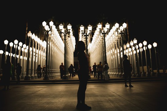 Attractive Los Angeles County Museum Of Art: Lacma Lights!