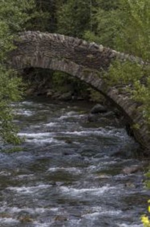 Parroquia de La Massana, Andorra: Pont romànic de Sant Antoni de la Grella