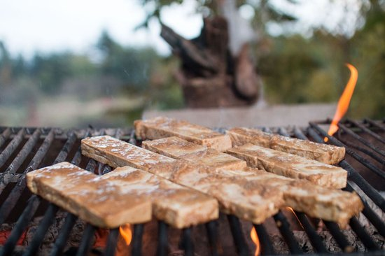 Englishtown, Καναδάς: Flame Grilled Tofu!