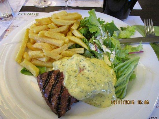 Drogenbos, Belgia: Steak d'autruche