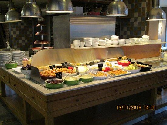 Drogenbos, Belgia: Buffet dessert