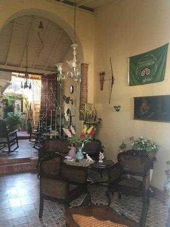 Hostal Remanso de Paz: Bandera de Tripadvisor