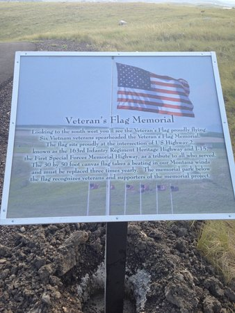 Montana Veteran's Memorial Flag and Park
