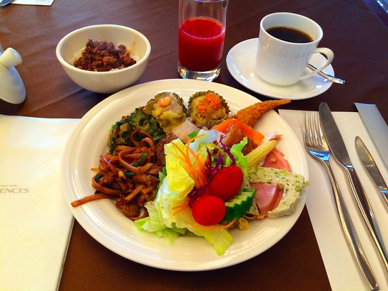 San Want Residences: 朝からたくさん食べますよ〜^^
