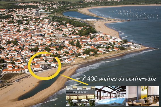 Hotel Les Dunes Aufnahme