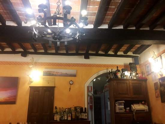 Montefollonico, Italy: Ristorante 13 Gobbi