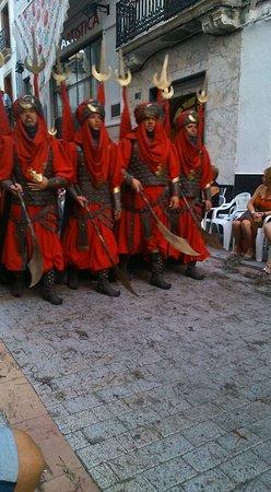 Bunol, สเปน: cavalcade des mores et chretiens