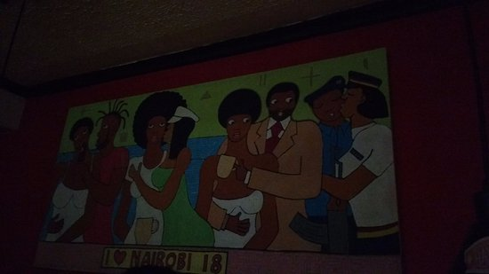 Interesting Graffiti Picture Of Havana Bar Restaurante Nairobi