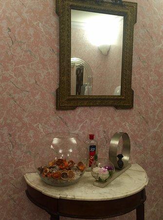 Magescq, France: rustgevend proper toilet
