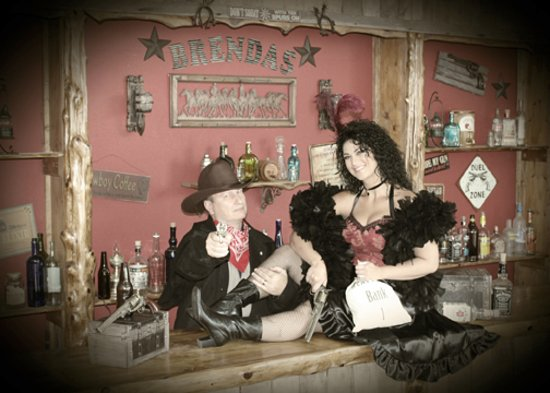 Branson, MO: Gun fighter and HIS lady!!!