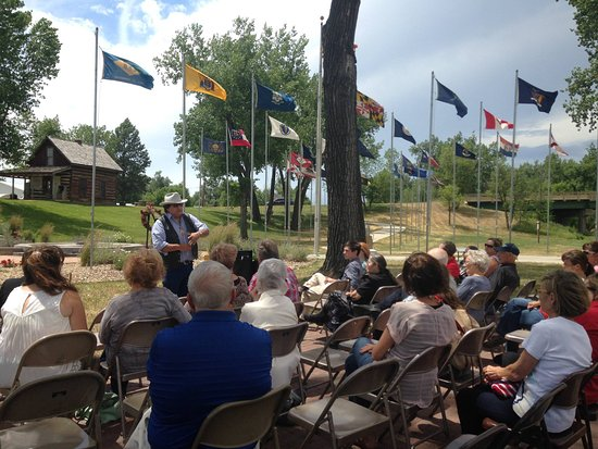 Belle Fourche, Южная Дакота: Dedication of the Warrior Trail, July 2016