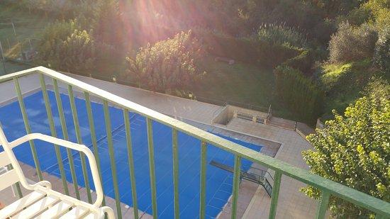 Hotel La Masia : Vue piscine