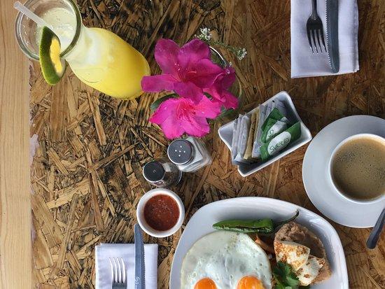 Tepatitlan de Morelos, México: Delicioso desayuno