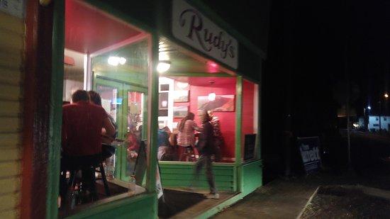 Sperryville, Wirginia: Front of Rudy's