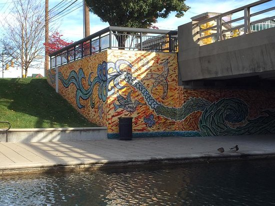 Central Canal: Mural