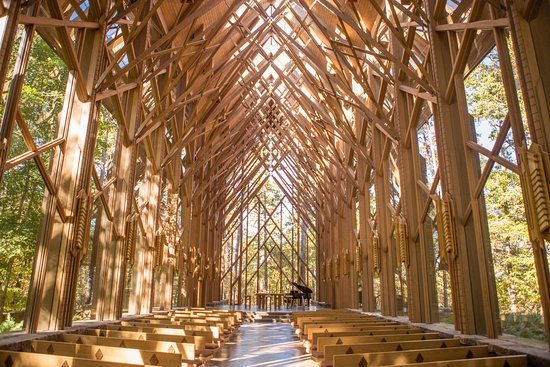 Anthony 39 S Chapel Is A Must See Picture Of Garvan Woodland Gardens Hot Springs Tripadvisor