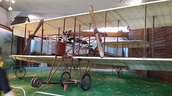 Volandia Parco e Museo del Volo Malpensa: primo aereo