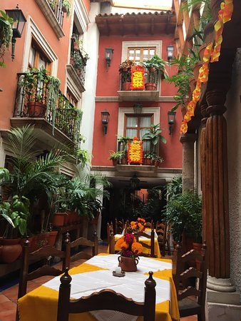 Hotel Rincon de Josefa: Restaurante delhotel