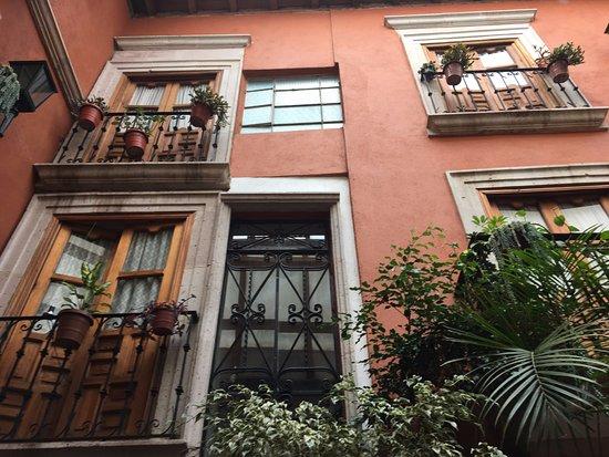 Hotel Rincon de Josefa: Vista de las habitaciones del hotel