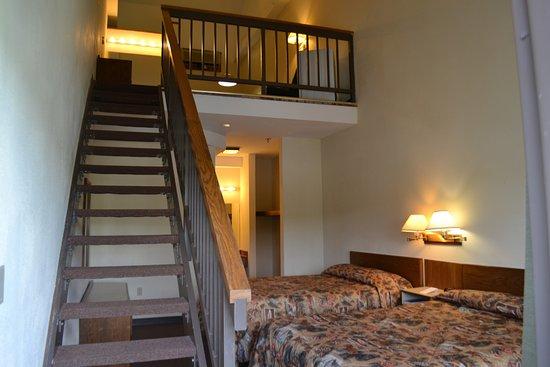 Potosi, Μιζούρι: Loft Room in the Lodge