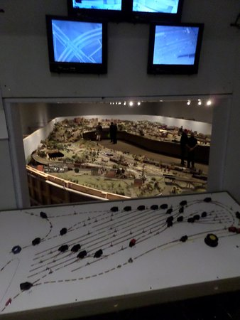 St. Jacobs, Canada: Tour sees the display from the control tower