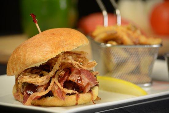 Great Neck, Nova York: Bacon Cheeseburger