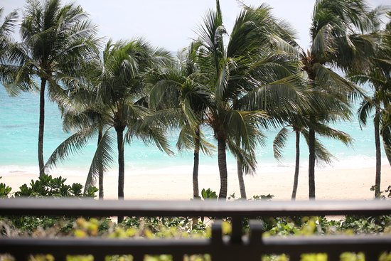 Shangri-La's Boracay Resort & Spa: View from our room!