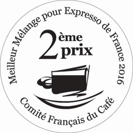 Bressuire, France: 2è prix Meilleur Mélange Espresso (concours national) 2016