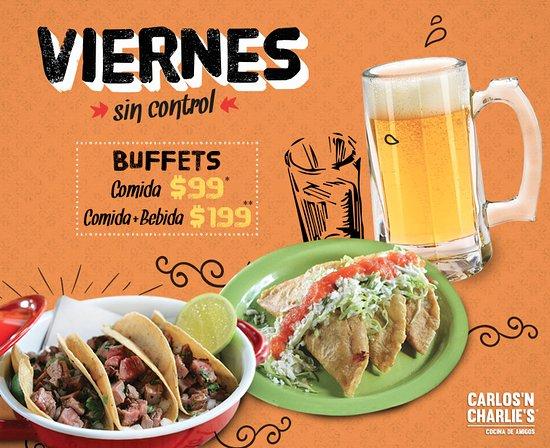Carlos'n Charlie's Interlomas: Viernes sin control