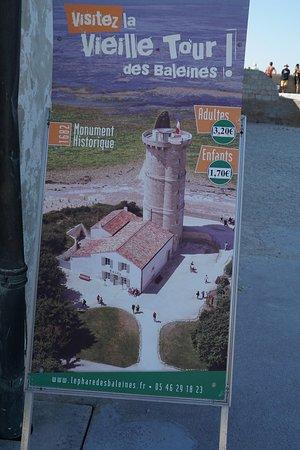 Saint Clement des Baleines, Frankrijk: l'entrée de la vieille tour