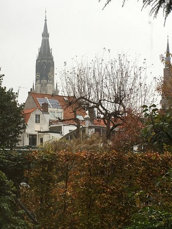 Hotel Leeuwenbrug: vista dalla finestra sul giardino
