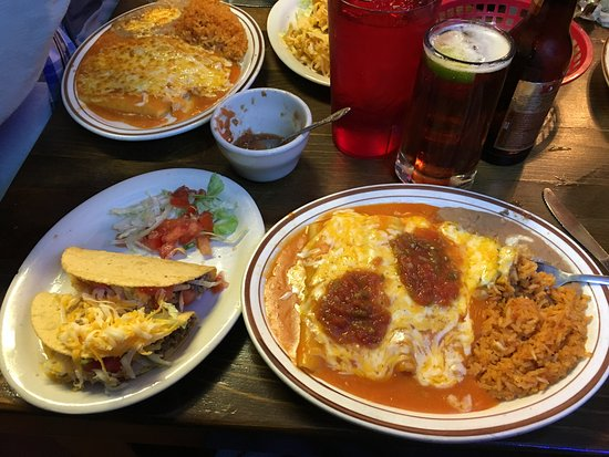 Alpine, TX: Now that is some Tex-Mex!