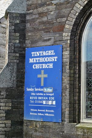 ‪Tintagel Methodist Church‬