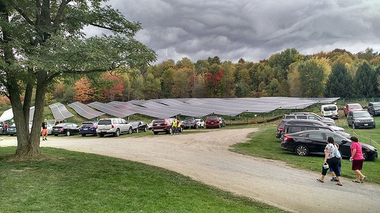 Waterbury, Vermont: The PV array they have