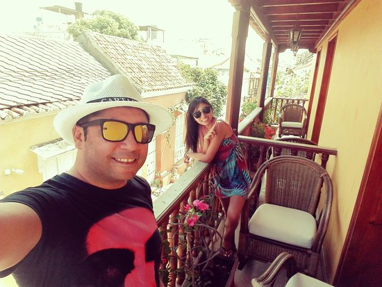 Hotel Casa del Curato : Desde el Balcón