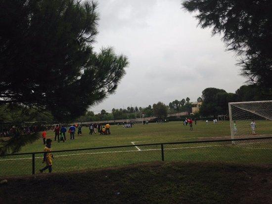 Monclova, Meksyk: Futbol infantil en Parque Xochipilli 1